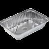 Aluminium bakje 187- 650cc 203x111x33mm 100 stuks