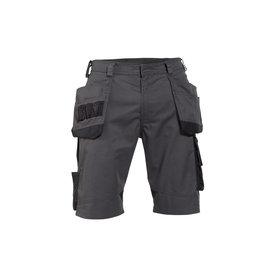 Dassy korte broek Bionic antracietgrijs/zwart