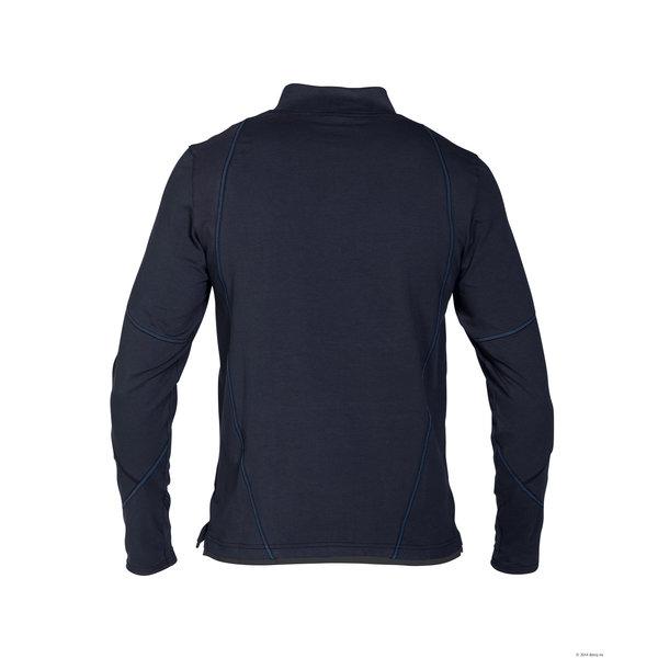 Dassy Sonic t-shirt langen mouw nachtblauw/antracietgrijs