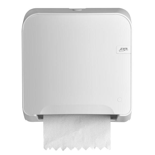 Euro White Quartz mini matic XL handdoekrol dispencer