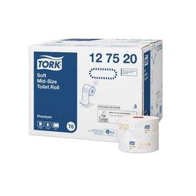 Tork T6 Premium toiletpapier 2lgs wit 90mtr 27 rol