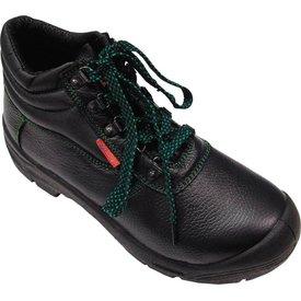 v-schoen hoog s3 on zwart lima, 36