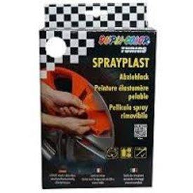 motip dupli-color set sprayplast transparant  2 x 400 ml