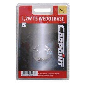 12v1,2w wedge carpoint blister 2st