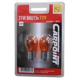 12v21w oranje carpoint 2 stuks