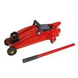 krik hefvermogen 2000 kg. hydraulisch. hefhoogte: 135 - 342