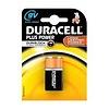 duracel alkaline plus power duralock 9v  1st nieuw