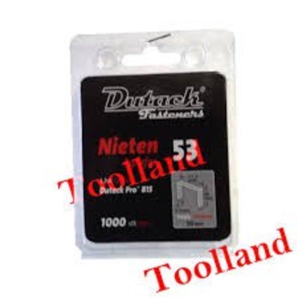 Dutack niet serie 53 8mm blister 1000st
