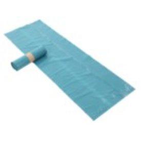 afvalzak sterko ldpe, blauw 65/25x140 cm 70 mµ