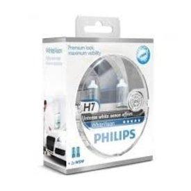 philips h7 white vision set 2 st