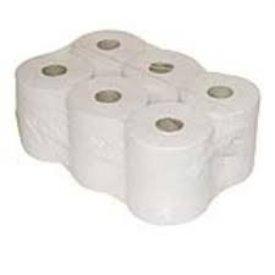6 papierrol midi met koker 1 lgs 20cm breed x 300m