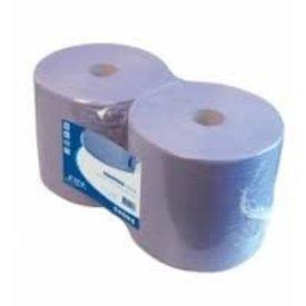 poetspapier 380 meter blauwe rol 2-lgs x 26cm 2 rol