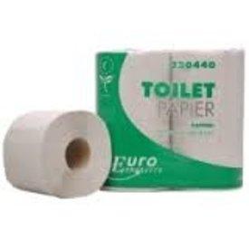 toiletrol 400 vel eco, tiss.wit 2 laags pak a 4 rol (10 pakk