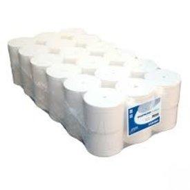 euro coreless toiletpapier 900 vel, 2-lgs 36 rollen per pak
