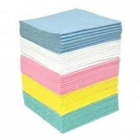 sopdoek blauw, 140gr/m2, a kwaliteit 38 x 40cm 1/4 vouw doos