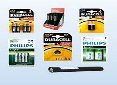 Batterijen & zaklampen