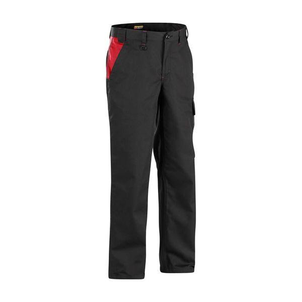 Bläkläder werkbroek 1404 zwart/rood