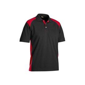 Bläkläder polo shirt 3324 zwart/rood