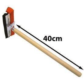 raamtrekker 20cm steel hout 40cm