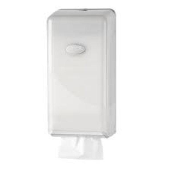 euro pearl toiletpapier dispencer bulkpack white