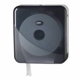 euro pearl toiletroll dispencer maxi jumbo black