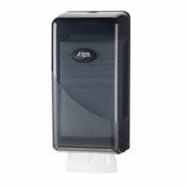 euro pearl toiletpapier dispencer bulkpack black
