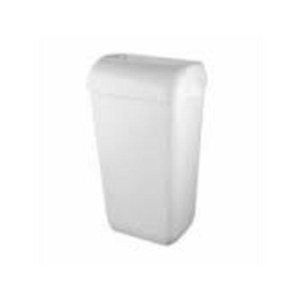 euro pearl afvalbak inhoud 23l hang/staand open inworp white