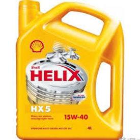 shell helix hx5 15w40 3x5l
