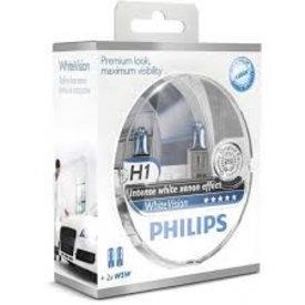 philips h1 white vision set 2 st