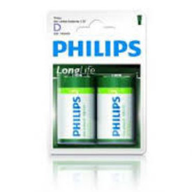 philips longlife r20 d-size