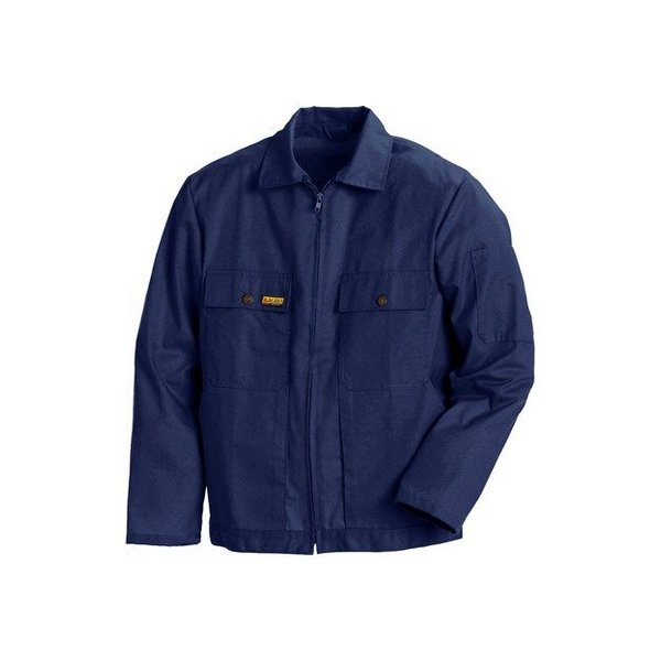 Bläkläder jas ongevoerd 4720 blauw mt M