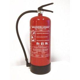 brandblusser poeder ABC 9KG