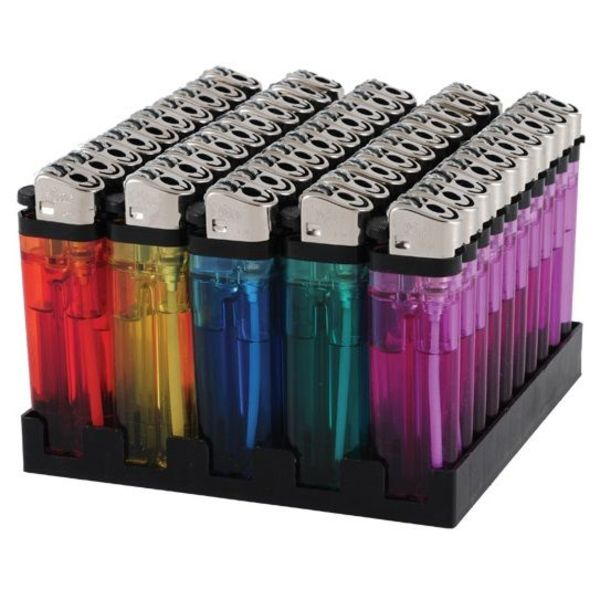 aansteker transparant doos a 50 stuks