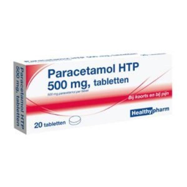 healthy paracetamol 500 mg 20 tbl