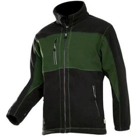 Sioen Fleece jack SEPP 611Z groen/zwart