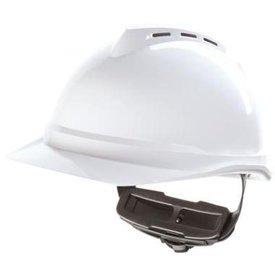 veiligheidshelm msa helm v-guard 500 fas-trac wit