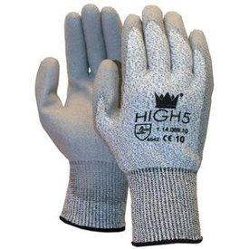 handschoen pu-coating HIGH5 CAT2  mt 7 t/m 12