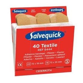 Salvequick 6444 textielpleisters 6 x 40 pleisters