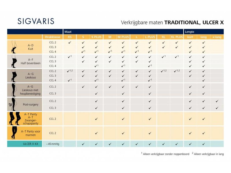 Sigvaris Traditional AG/H Attachable to hip