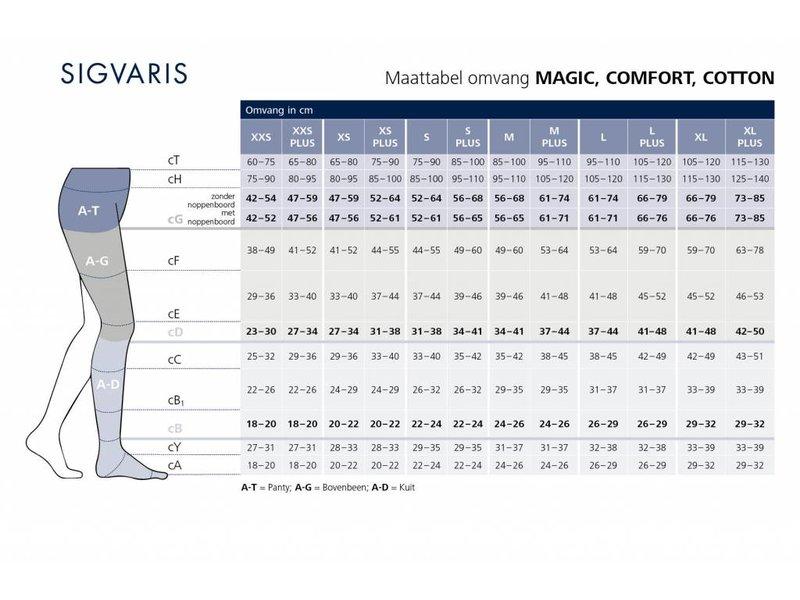 Sigvaris Cotton AD Knee Stocking