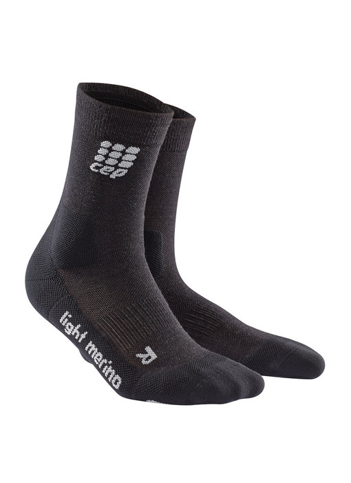 CEP Outdoor Light Merino Mid Cut Socks