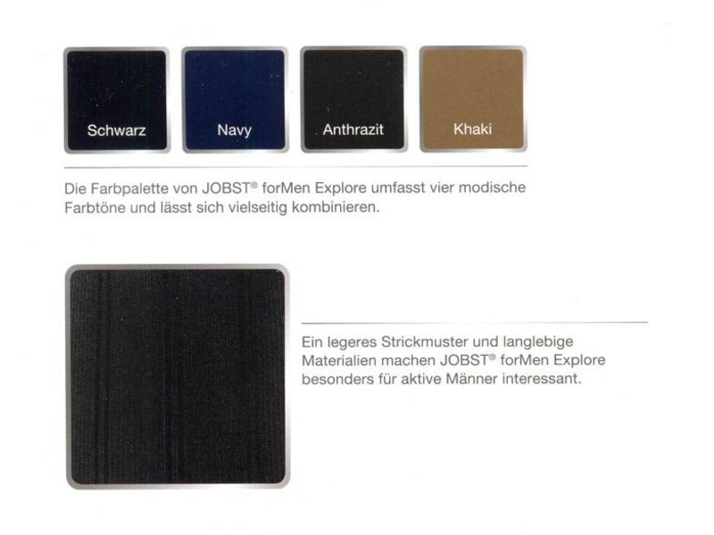 Jobst For Men Explore AD Kniekous