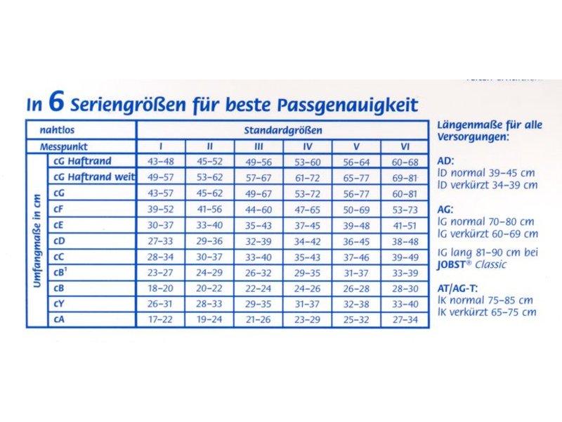 Jobst Opaque AG Schenkelstrumpf