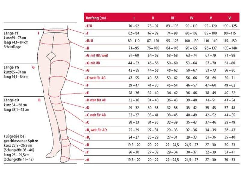 Ofa Lastofa Cotton AGT Thigh Stocking attachable to hip