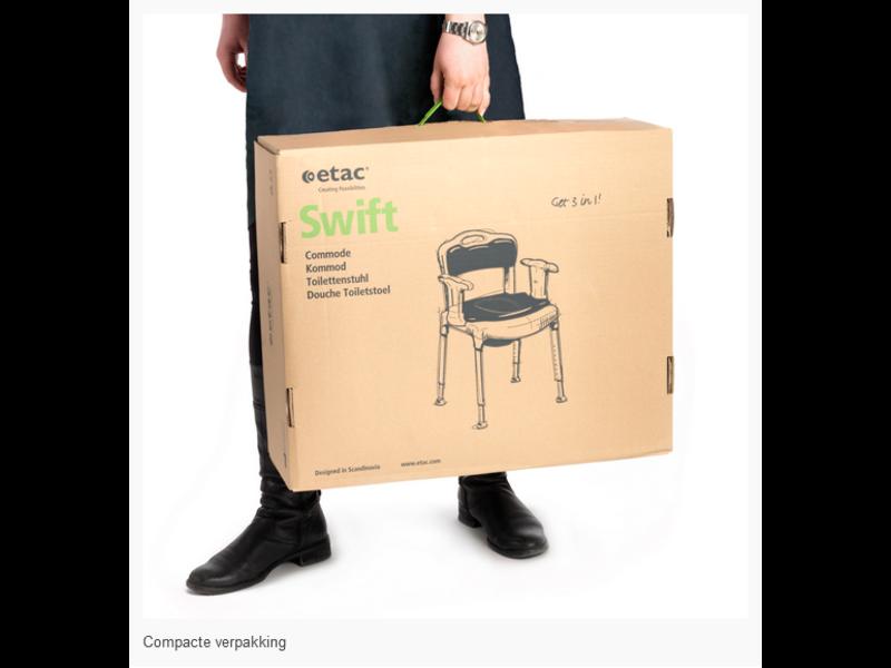 Etac Swift Commode (nur NL/BE)