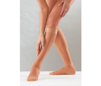 Sanyleg Preventive Sheer AD Knee-high 10-14 mmHg