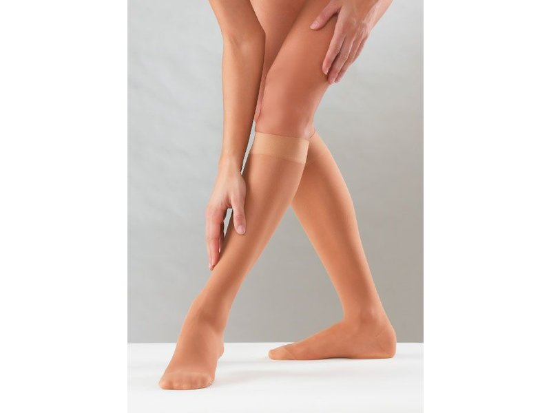 Sanyleg Preventive Sheer AD Bas de Genou 10-14 mmHg,