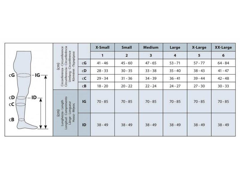 Sanyleg Therapeutische AD Wadenstrümpfe, CCL1