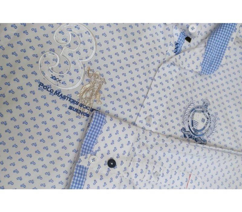 ELADIO II WHITE | MIDDLE BLUE