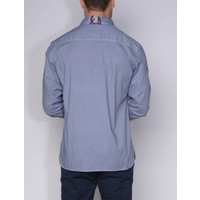 shirt ALEJO I briliantblue-white